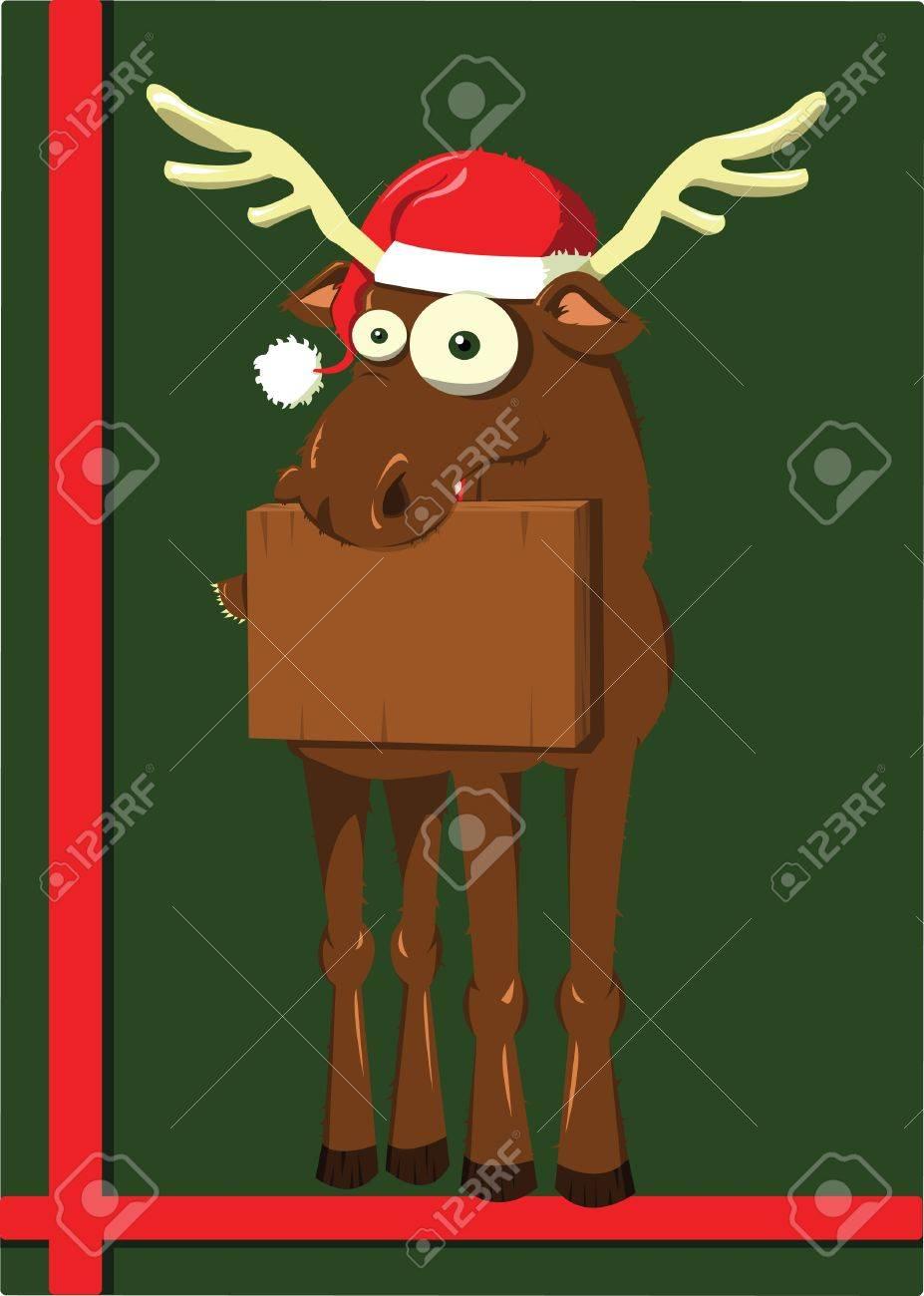Christmas Reindeer Stock Vector - 22061655