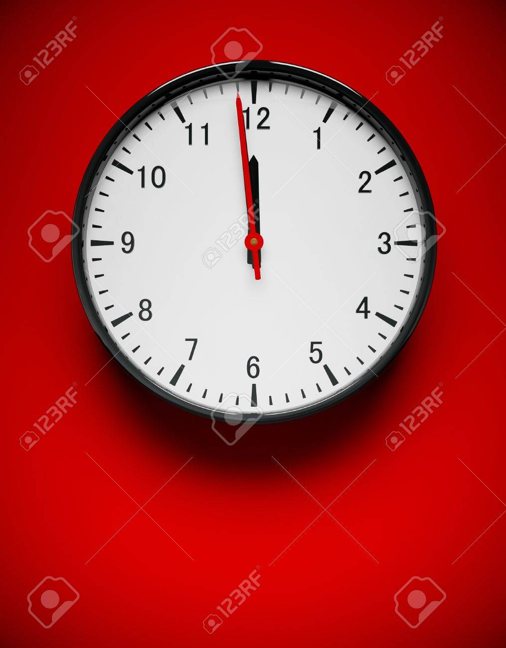 3d redner of a wall clock on red stock photo picture and royalty 3d redner of a wall clock on red stock photo 7878599 amipublicfo Gallery