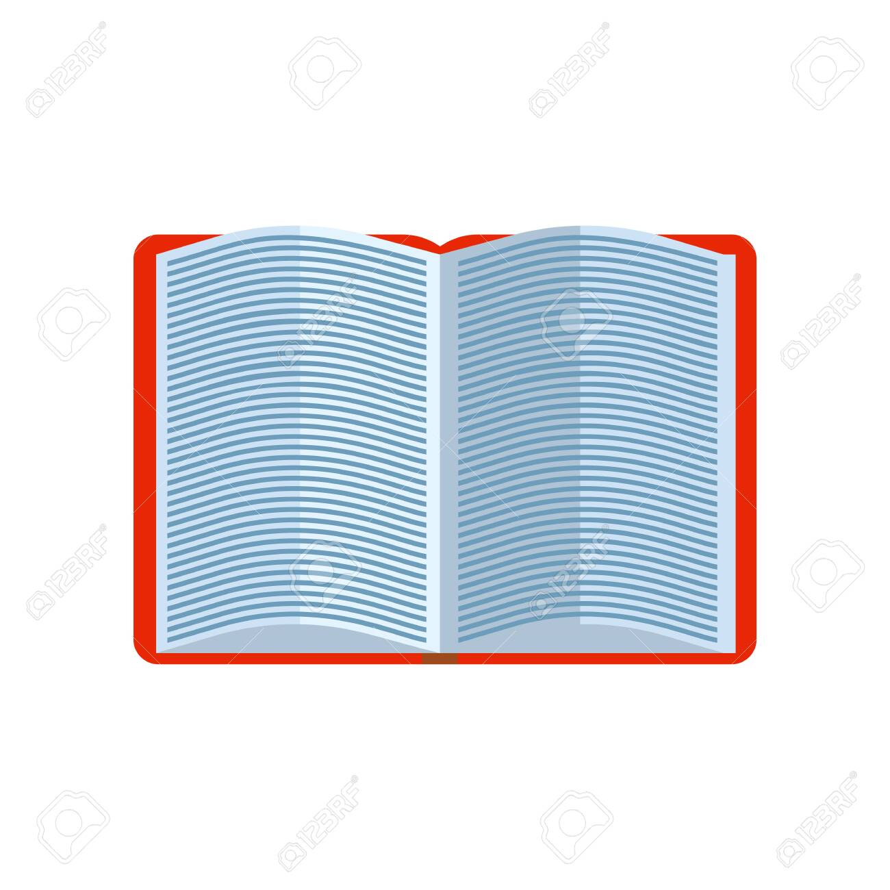 Opened book with small text  English dictionary  Can be used