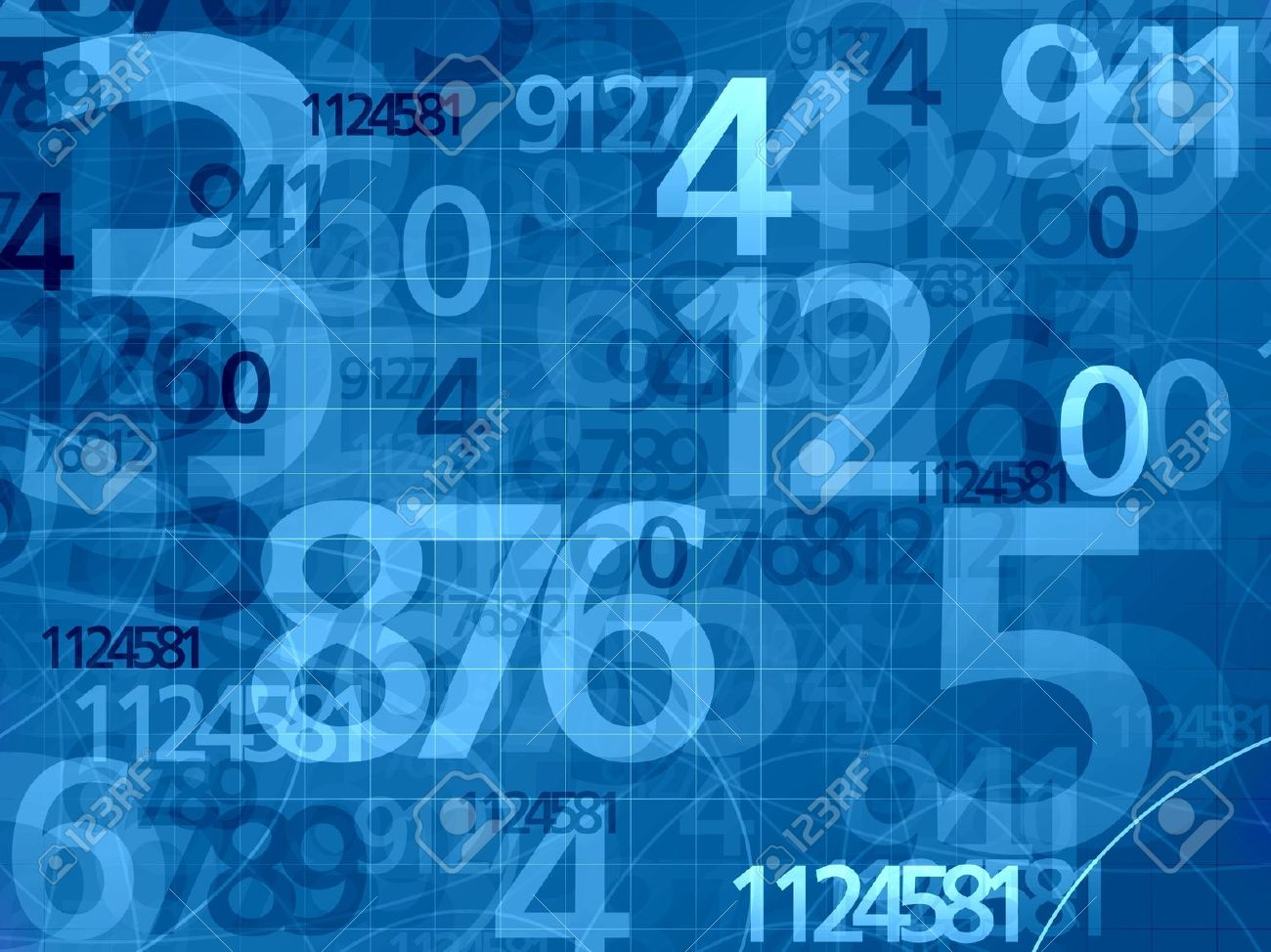blue numbers mathematical math background stock photo, picture and