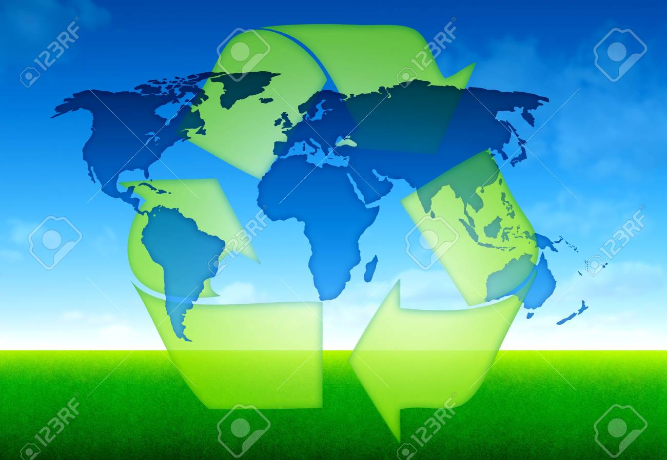 eco world global concept Stock Photo - 14652853