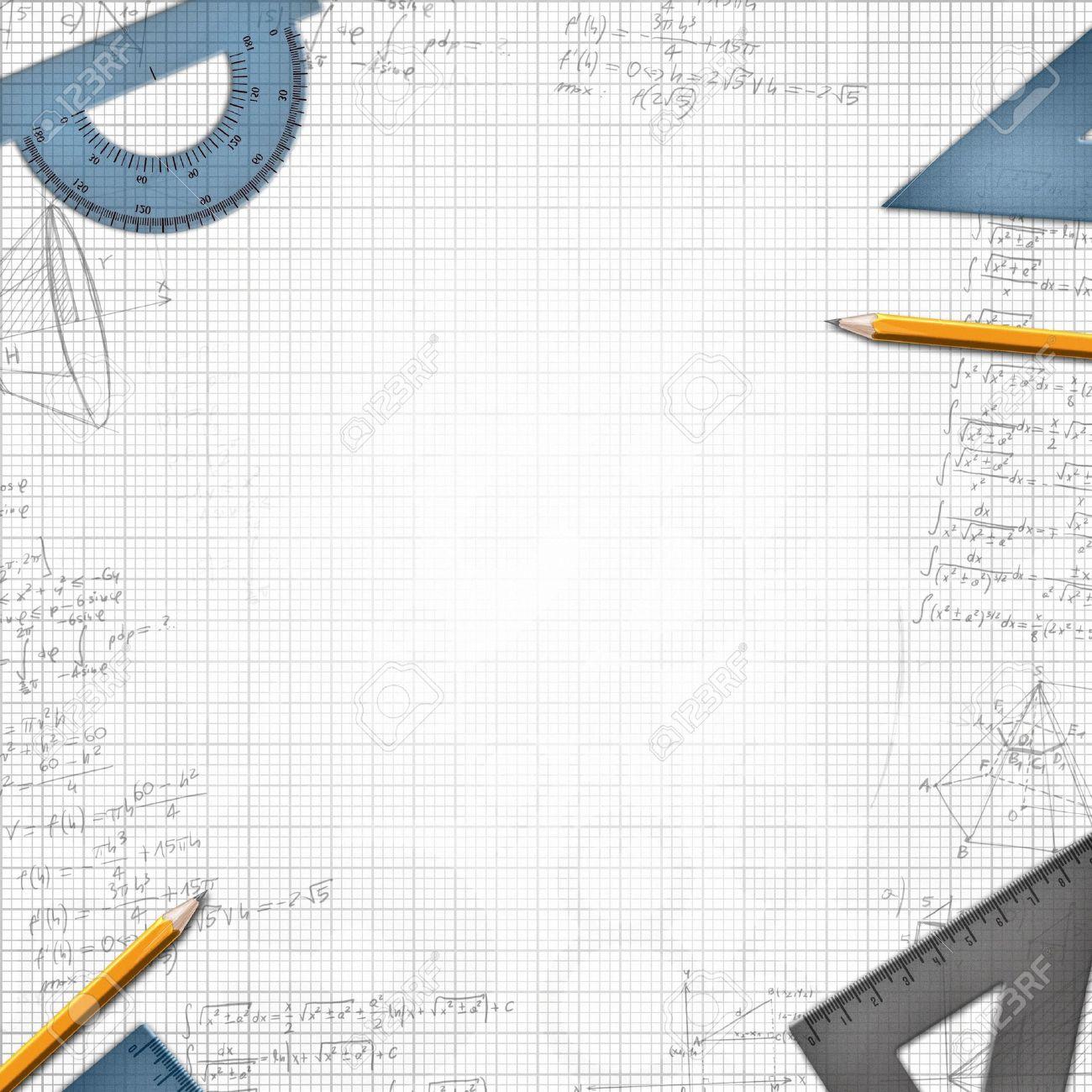 mathematic school design background illustration stock photo