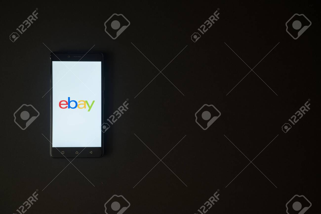 Los Angeles Usa October 19 2017 Ebay Logo On Smartphone Screen Stock Photo Picture And Royalty Free Image Image 88739689