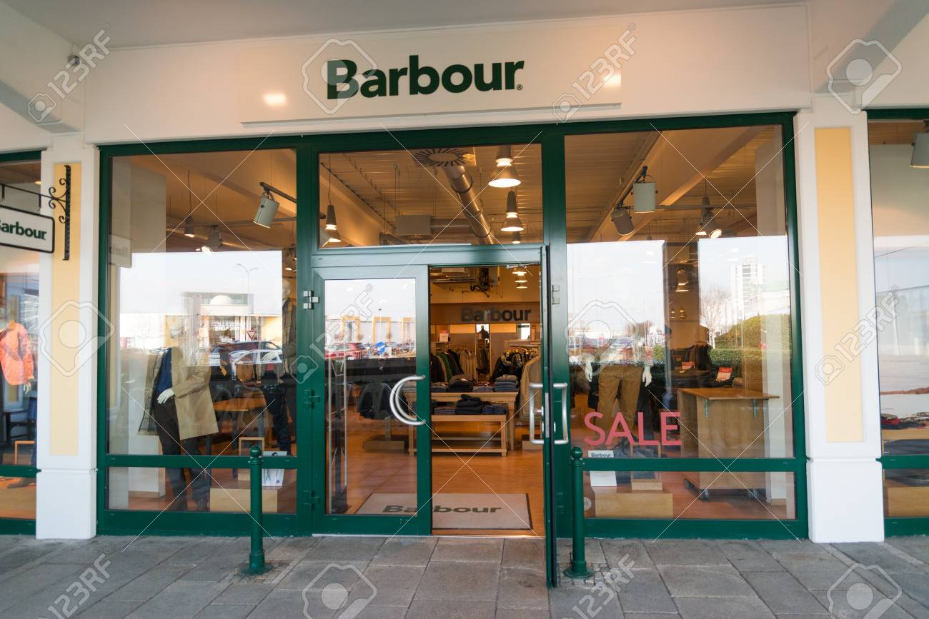 barbour shop