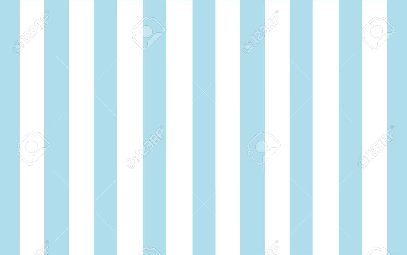 Classic Blue And White Stripe Wallpaper Backdrop