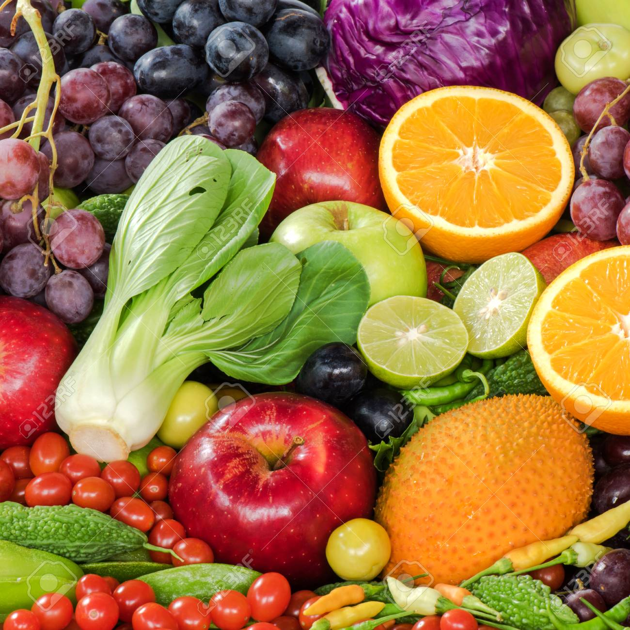 fresh fruits and vegetables foe heathy stock photo picture and