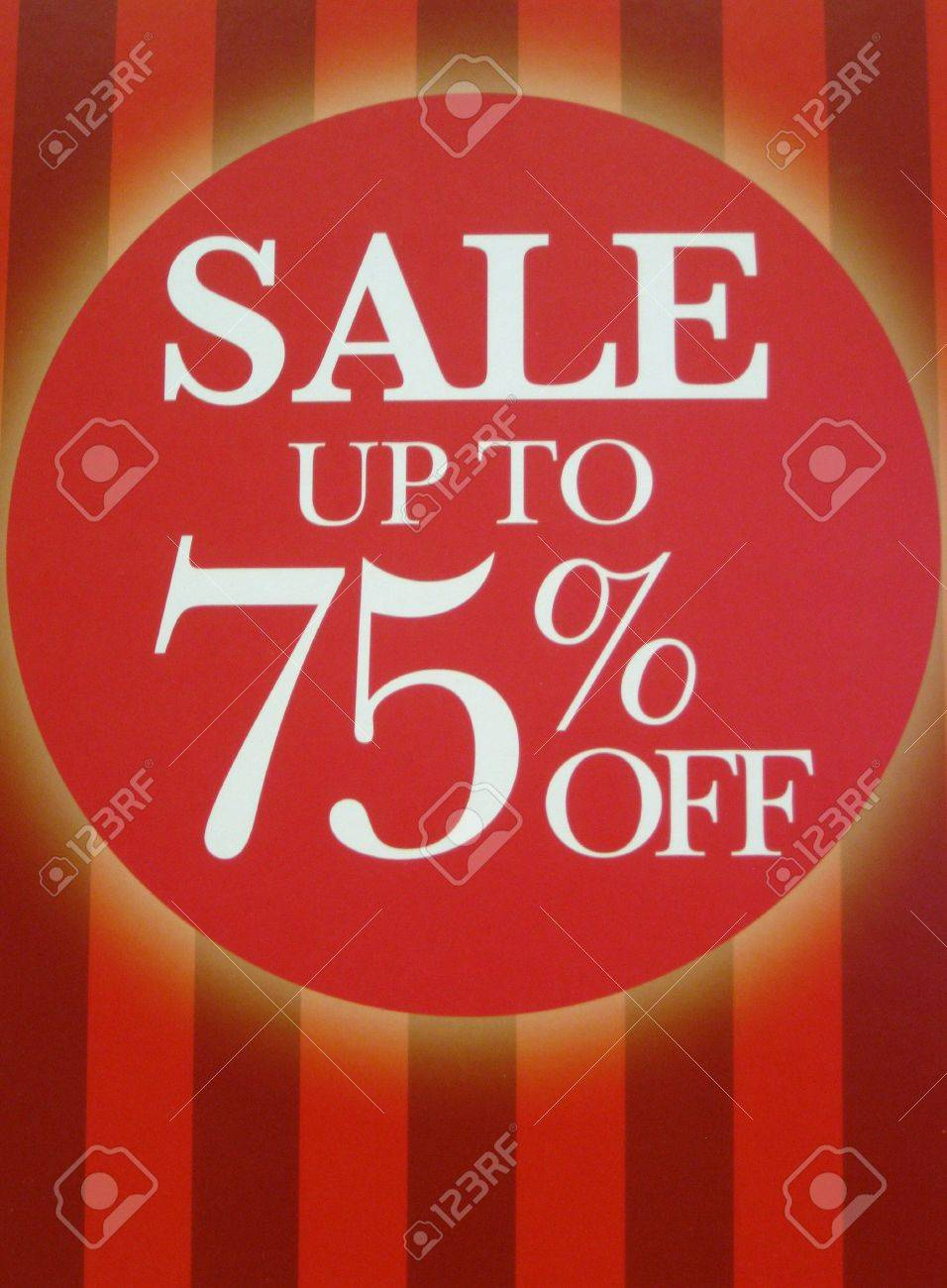 Sale sign Stock Photo - 6362587