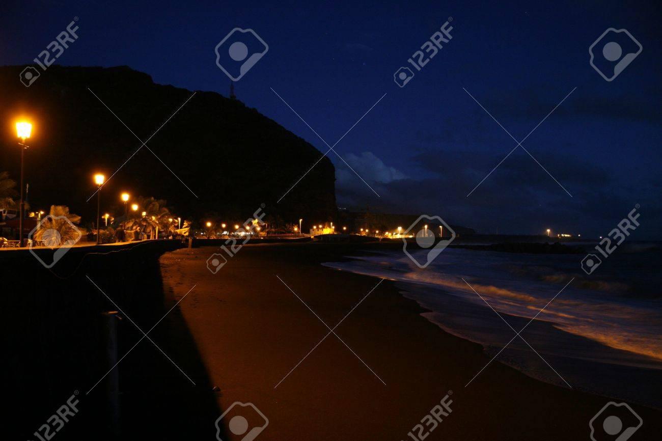 beach at night Stock Photo - 3222974