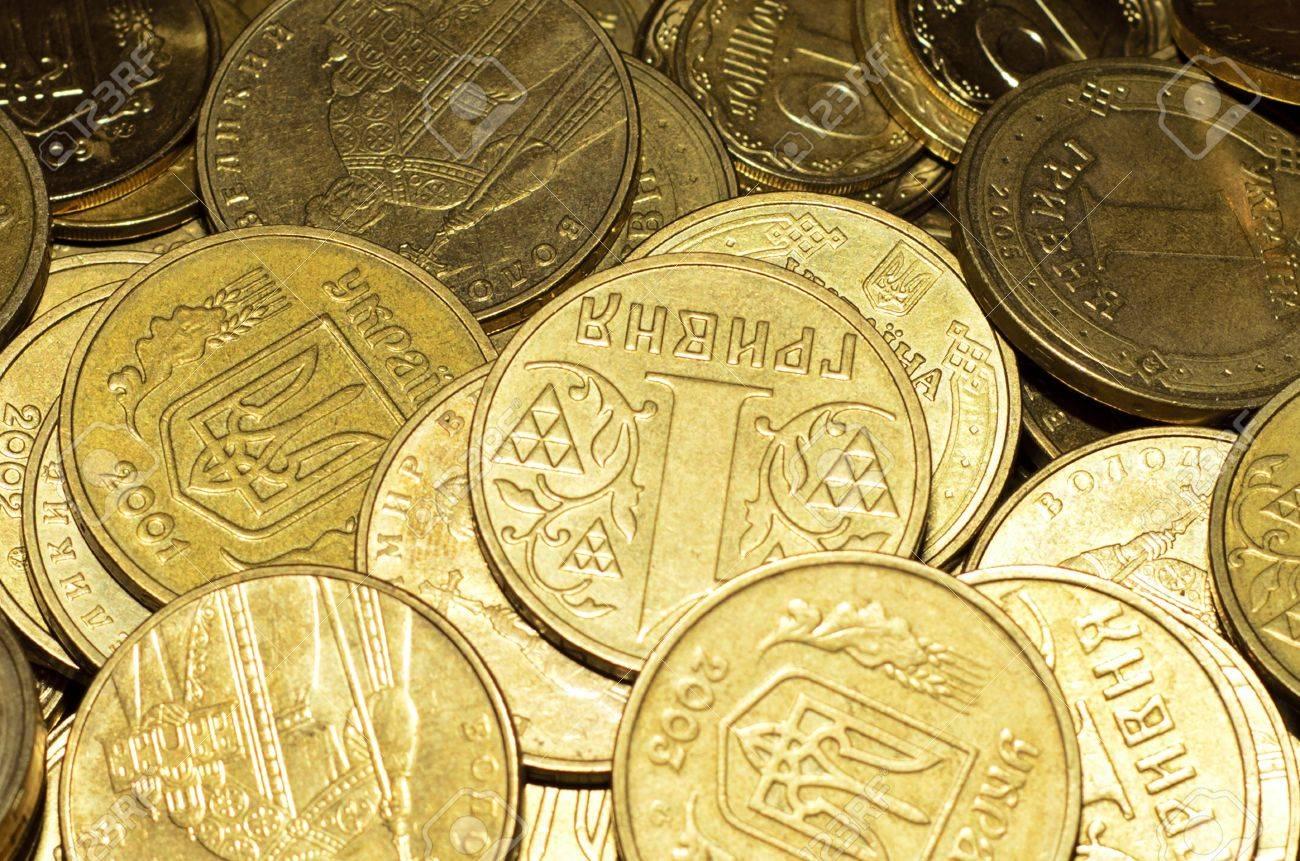 コインは クローズ アップ ウクライナのお金 グリブナの壁紙します