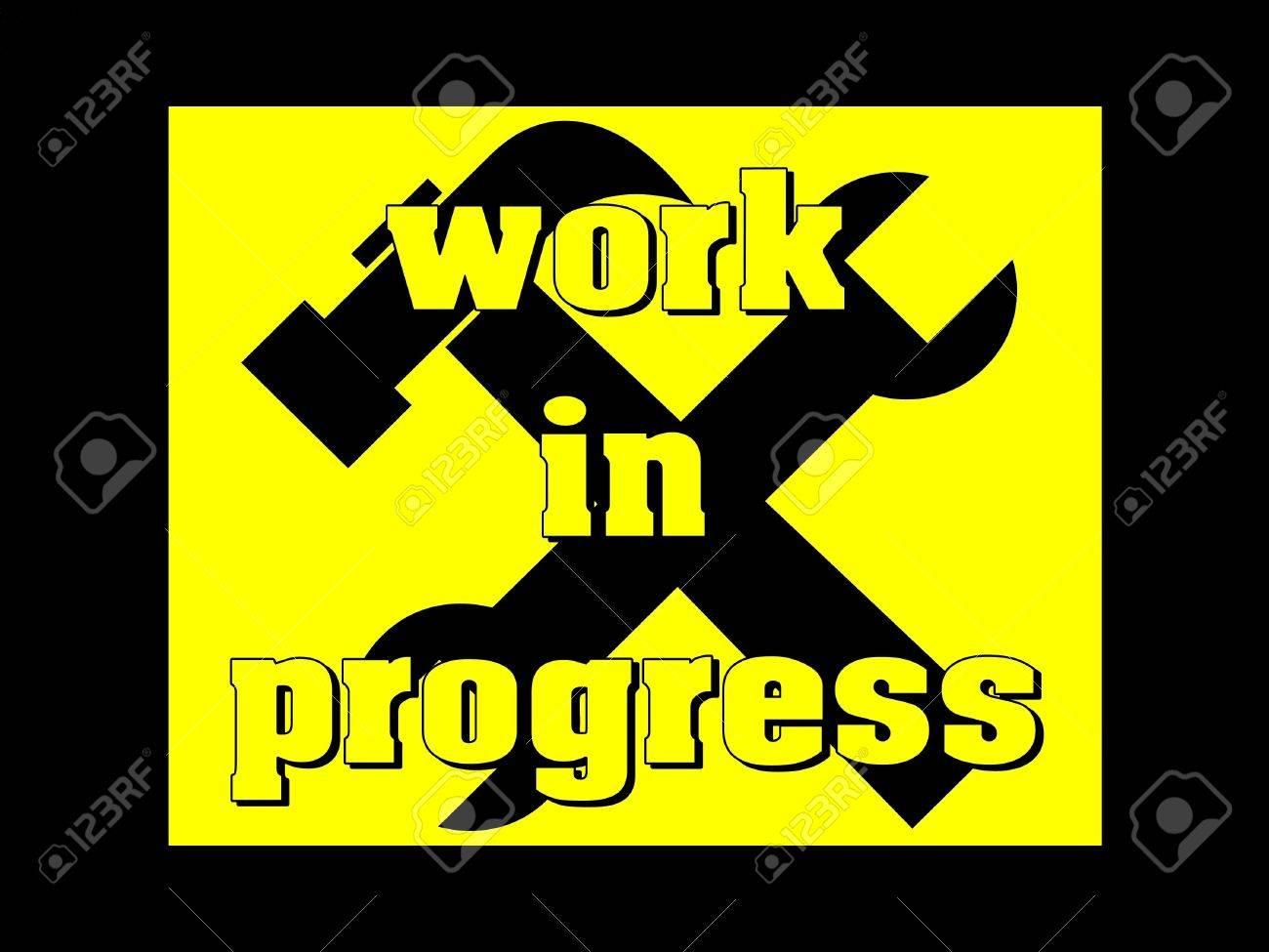 Work in progress Stock Photo - 12459265