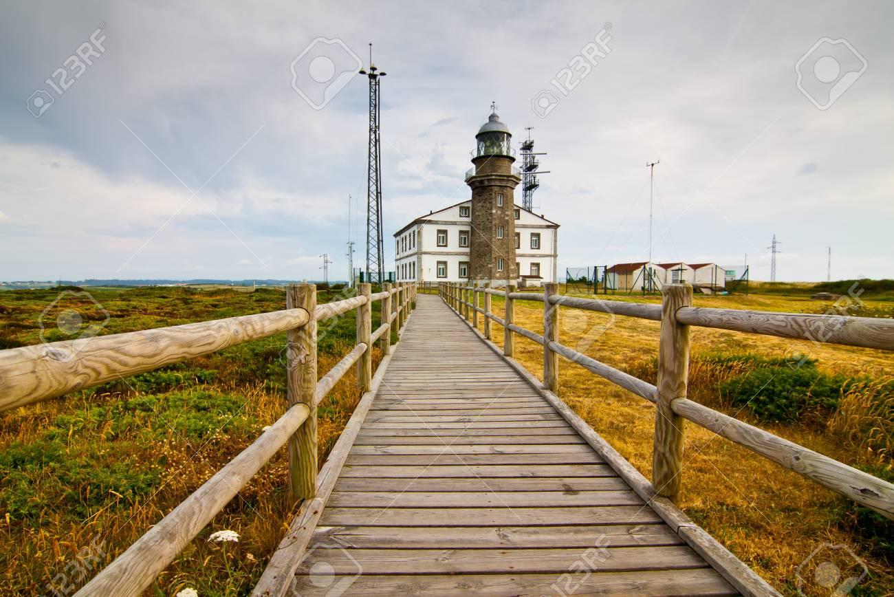 phare de Cabo de pois, Espagne Banque d'images - 11638510