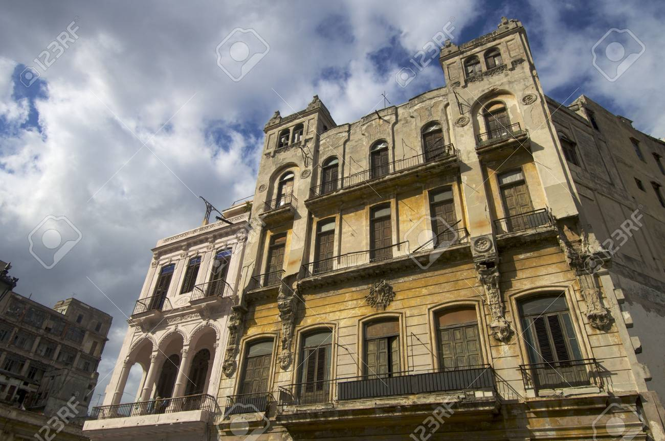 colonial building in Havana, Cuba Stock Photo - 6434104