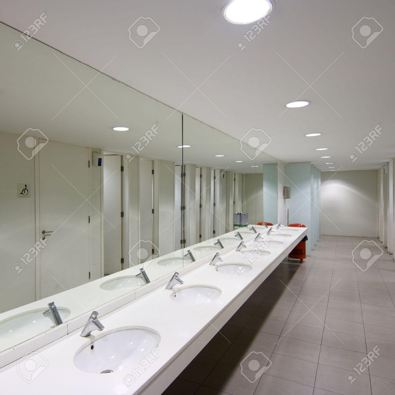 Public Bathroom Mirror public restroom stock photos & pictures. royalty free public