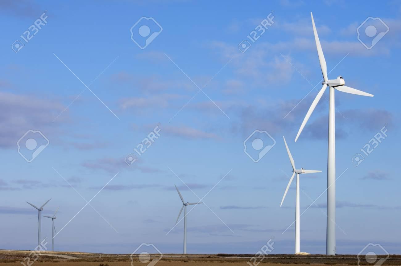 windmills for electric power generation alternative Stock Photo - 8679028