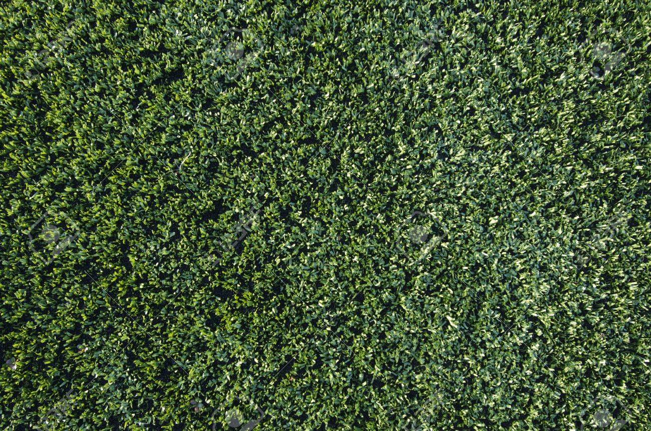 background created  by a closeup of artificial grass Stock Photo - 8731462
