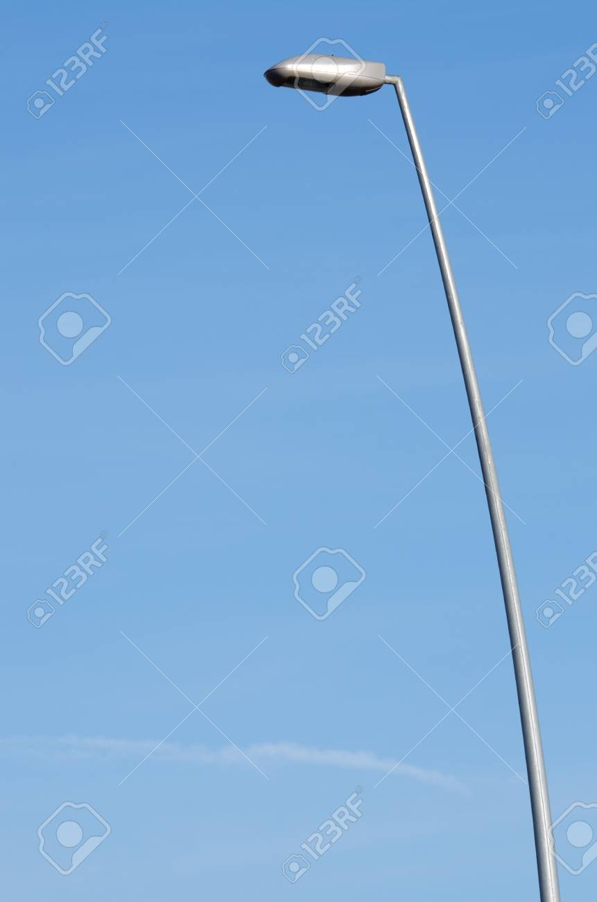 street lamp wit clear and blue sky Stock Photo - 8731448