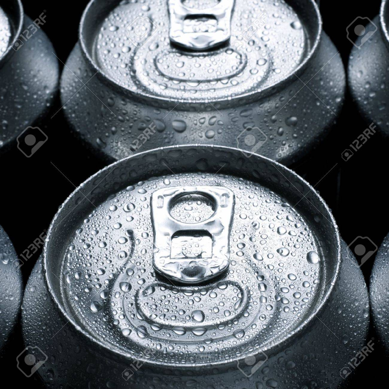 group of an aluminum can of soda - 14288912