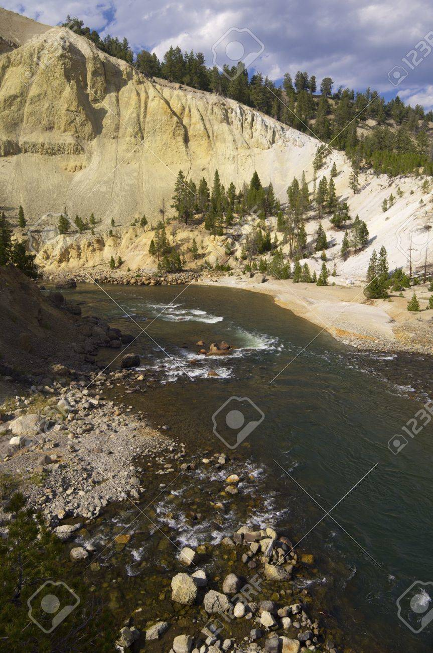 Yellowstone River In Tower Roosevelt Area Yellowstone National Stock Photo Picture And Royalty Free Image Image 28103957
