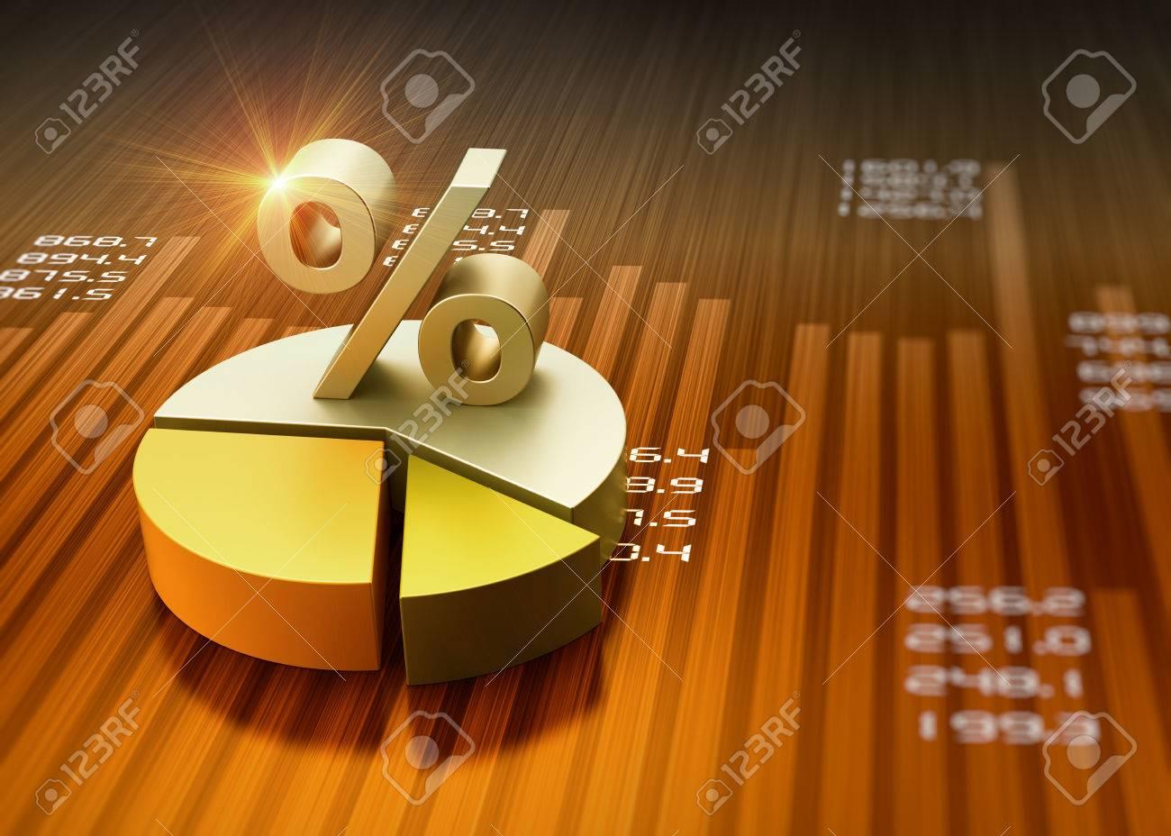 Business financial graph chart as concept - 28828086