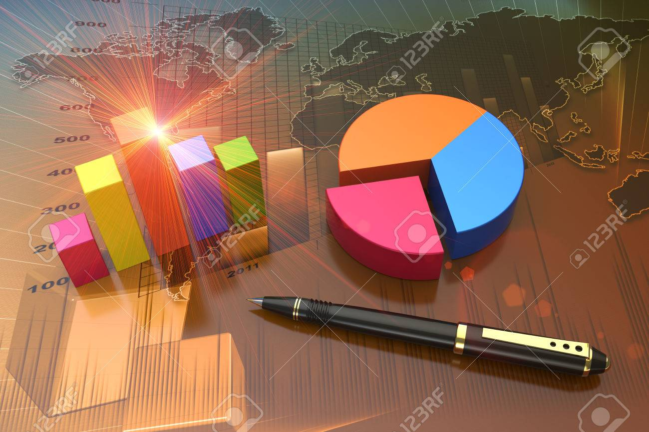 Financial graphs as a successful business concept - 32337397