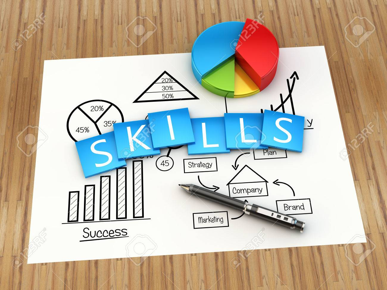 Business skills and concept - 40749992