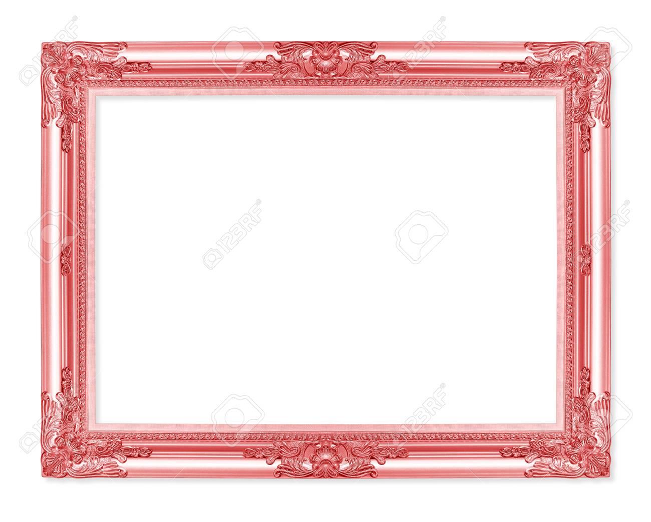 Il Telaio Rosso Antico Su Sfondo Bianco Foto Royalty Free Immagini