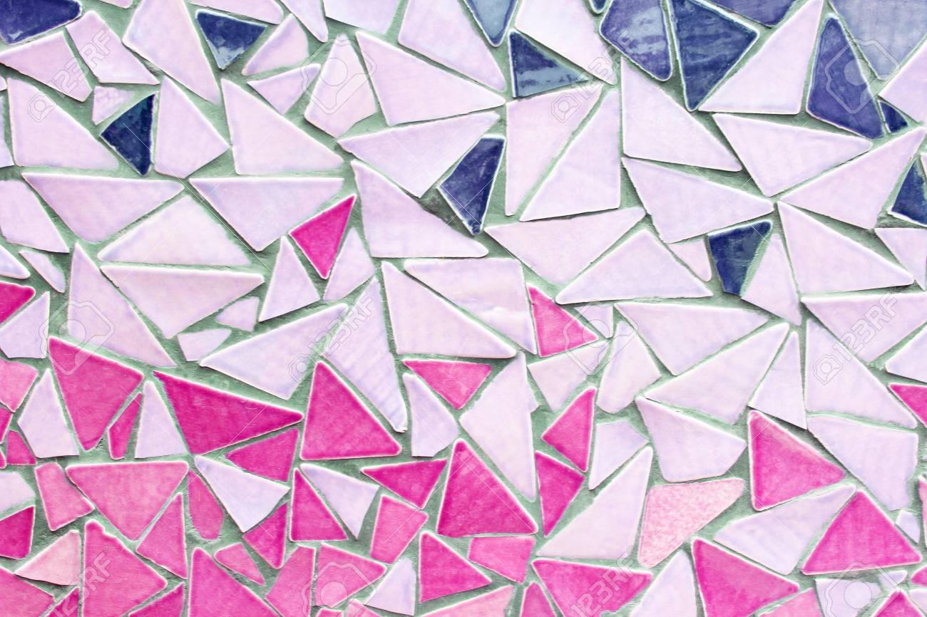 Ornamento decorativo della parete del mosaico dalle mattonelle rotte
