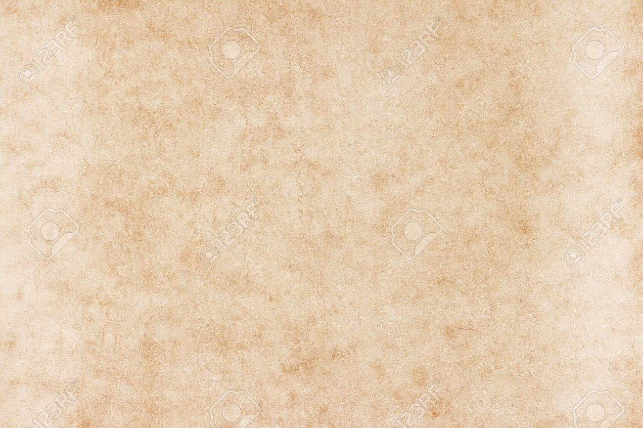 Old Paper texture. vintage paper background or texture; brown paper texture - 124631087