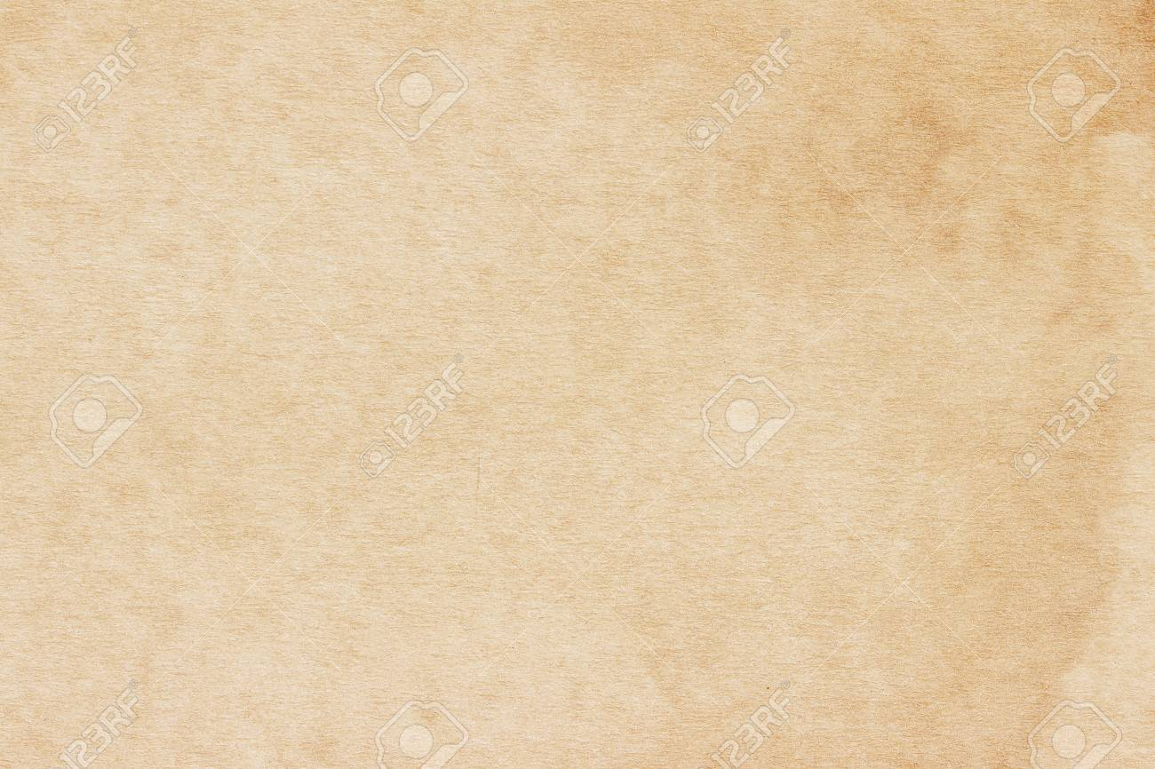 Old Paper texture. vintage paper background or texture; brown paper texture - 124630774