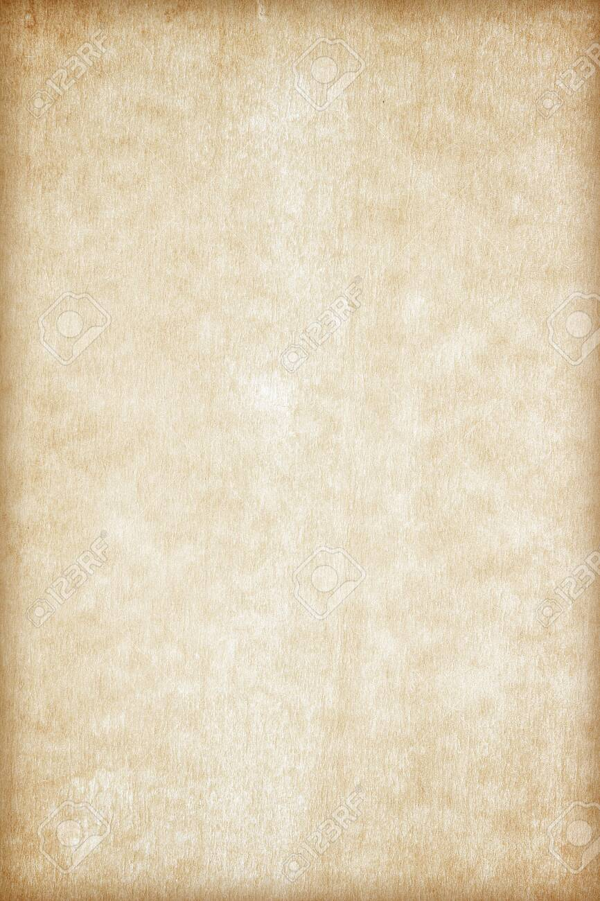 Old Paper texture. vintage paper background or texture; brown paper texture - 129313934