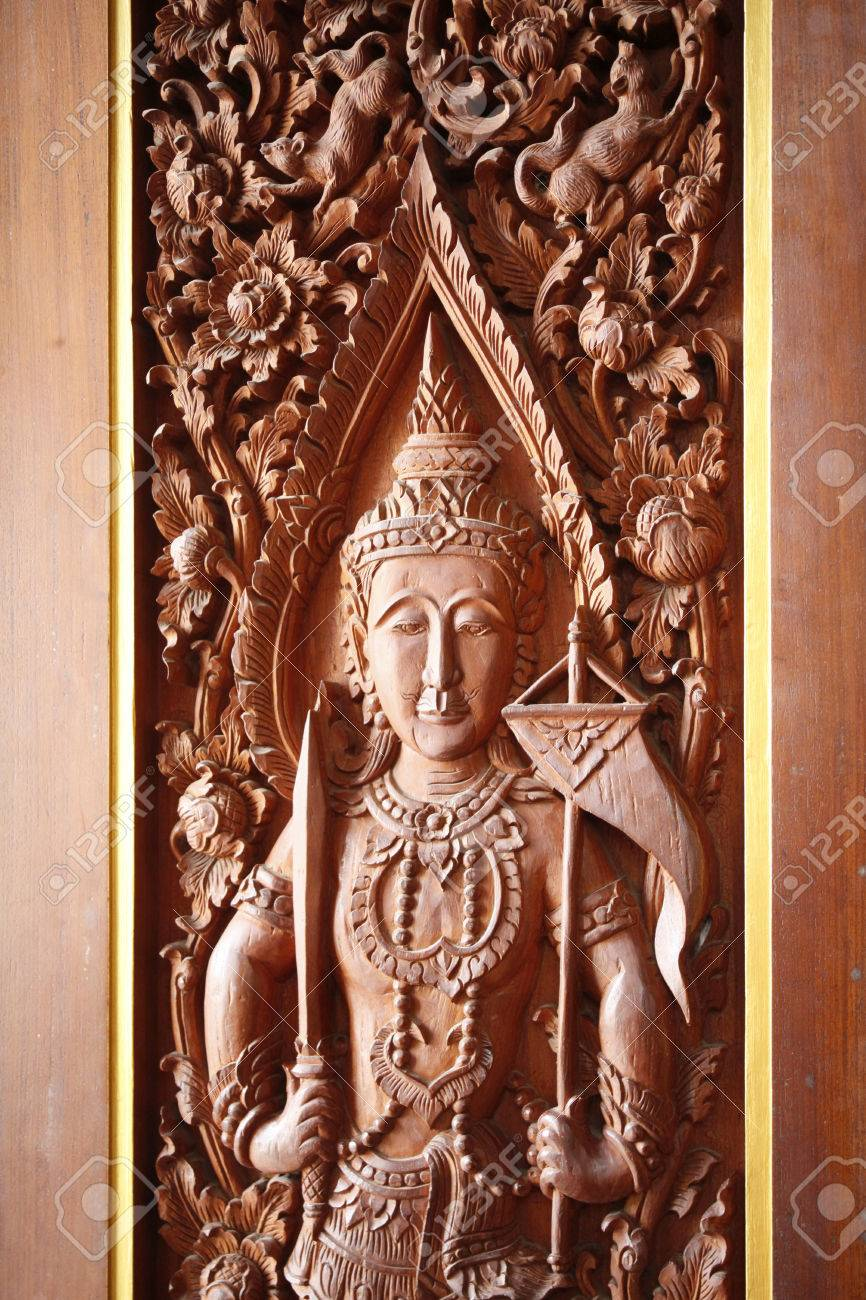 Wood carvings thailand best craftsman stock photo picture and
