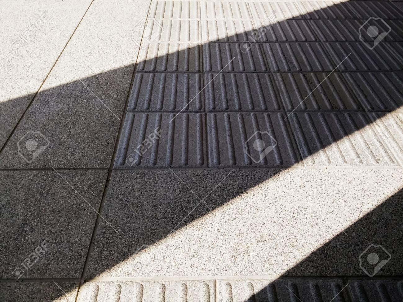 Pattern Of Terrazzo Floor Tiles With Light Contrast