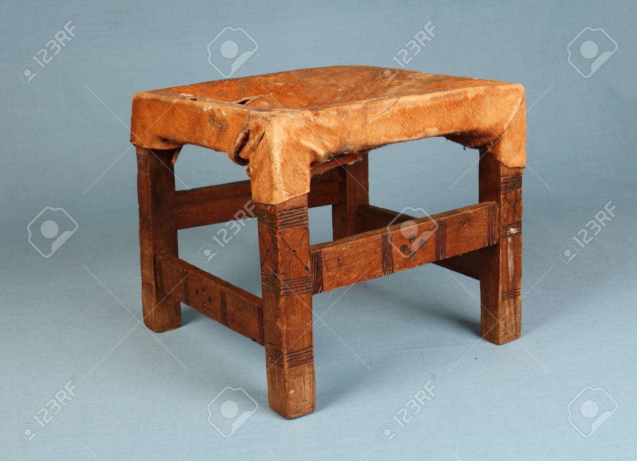 Sensational Traditional Handmade African Milking Stool Made From Animal Hide Gamerscity Chair Design For Home Gamerscityorg