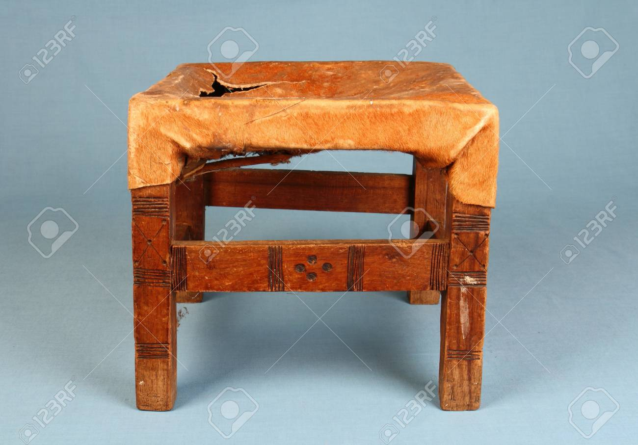 Swell Traditional Handmade African Milking Stool Made From Animal Hide Gamerscity Chair Design For Home Gamerscityorg
