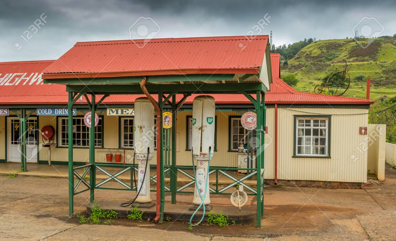 Pilgrims Rest, South Africa - a vintage fuel and service station