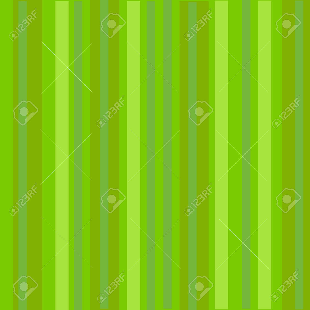 Simple Green Stripes Background Design Good For Wallpaper Etc Stock Photo