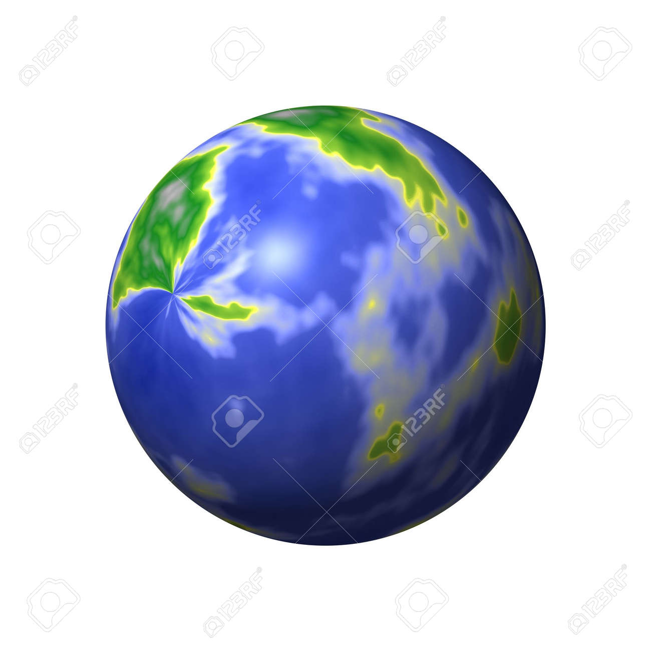 A round world map with lands and seas stock photo picture and a round world map with lands and seas stock photo 836198 gumiabroncs Images