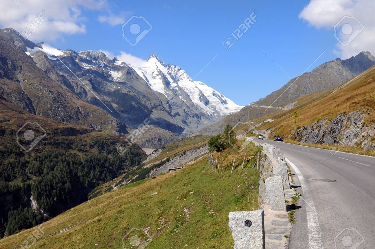 Road to the Franz-Josefs-Height at the Grossglockner Stock Photo - 5615524