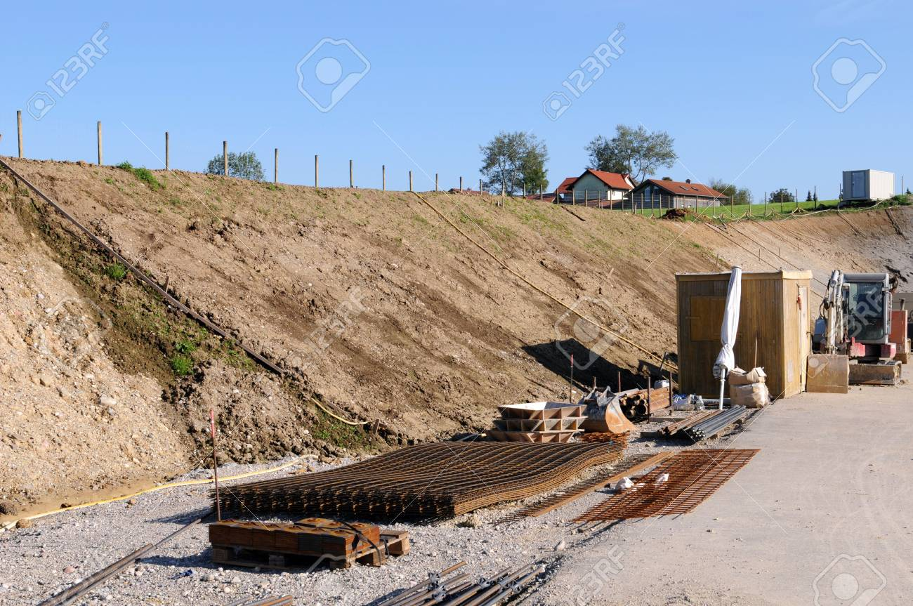 Road construction in Germany Stock Photo - 5720123