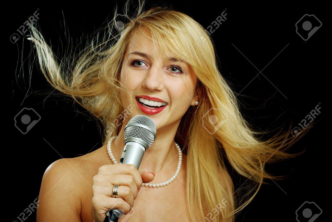 Females singing naked