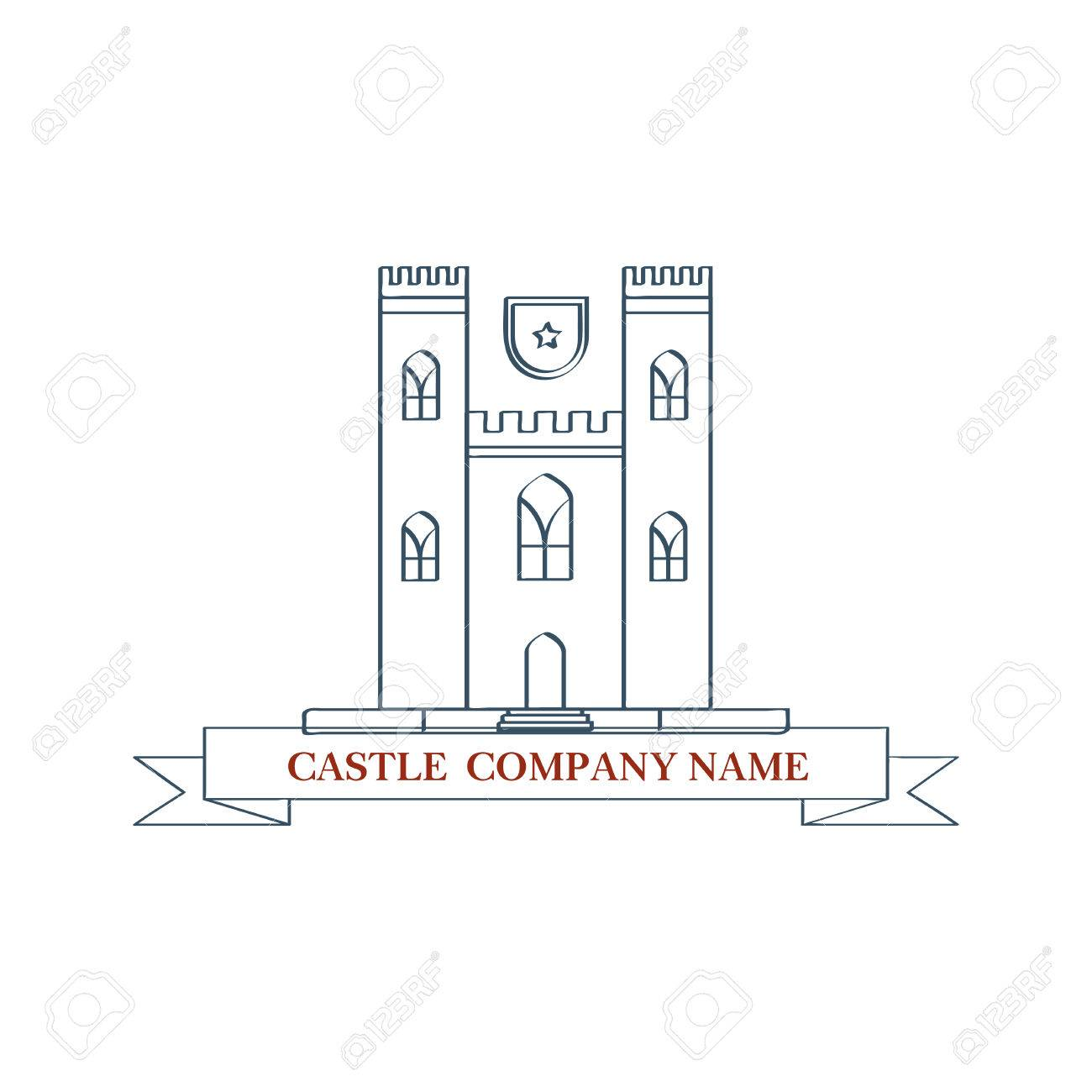 Perfect Logo For Luxury Travel Agency. Isolated Illustration On White  Background