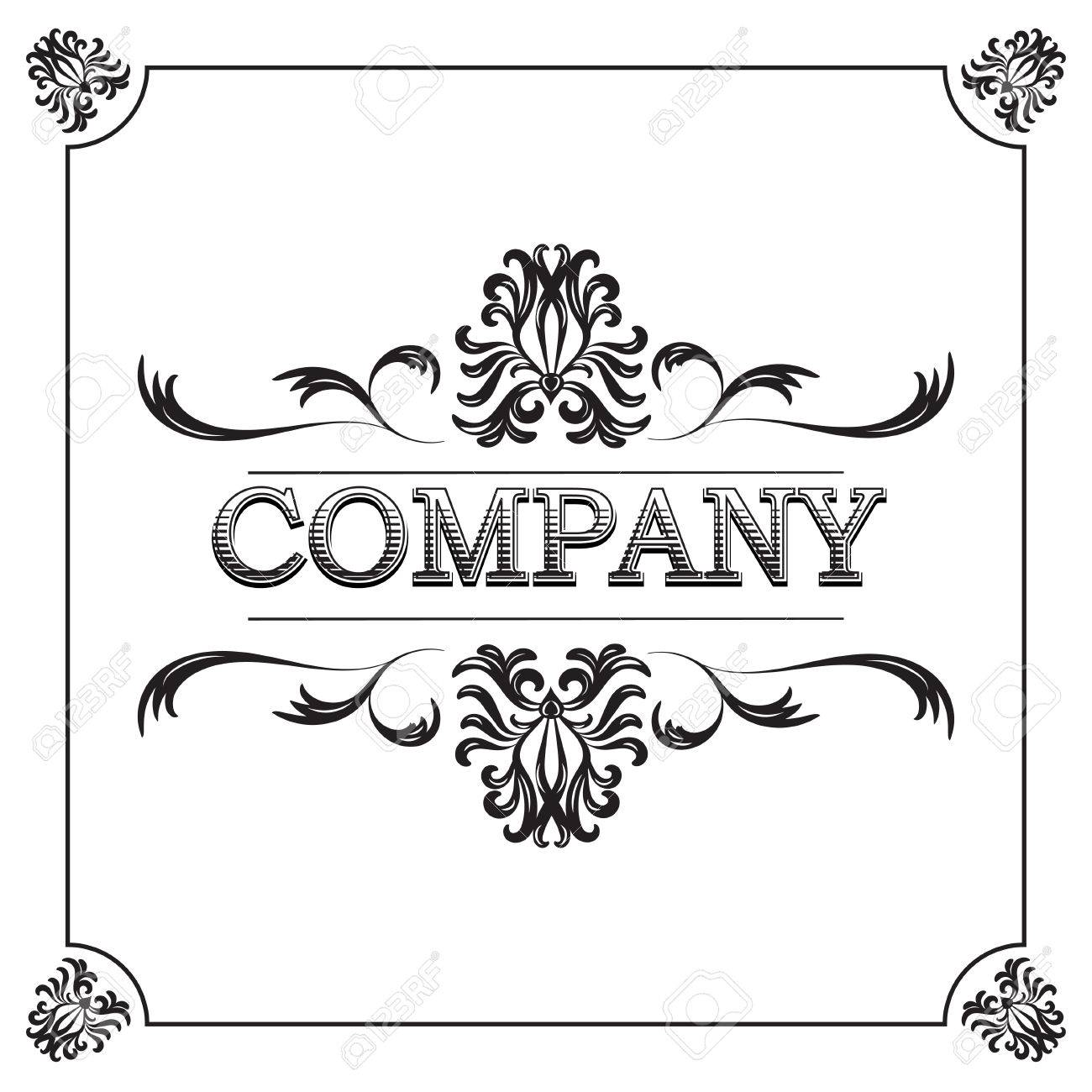 0a0fd271d02 Vintage Ornate Frame Royalty Free Cliparts