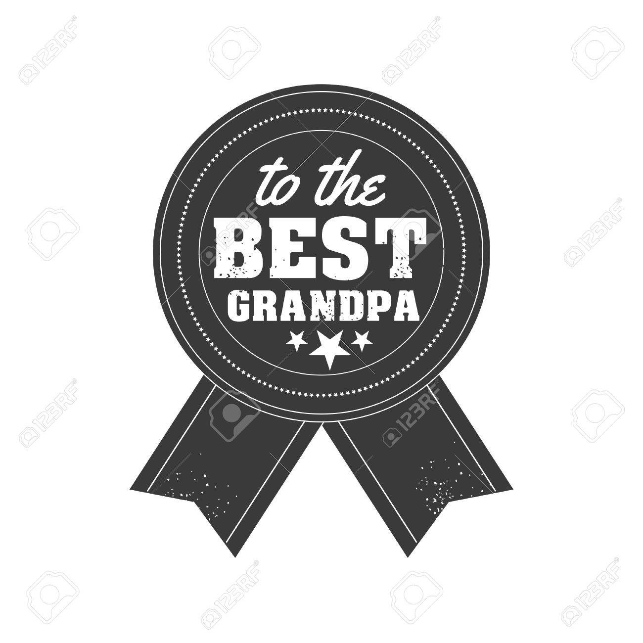 Isolated Grandparents day quotes on the white background  To