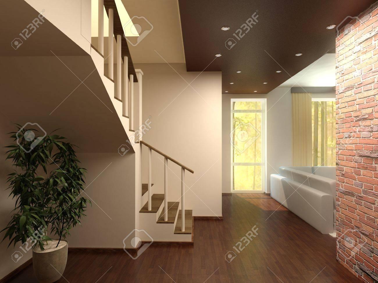 Escaleras Interiores Casas. Ideas Para Decorar Las Escaleras De Tu ...