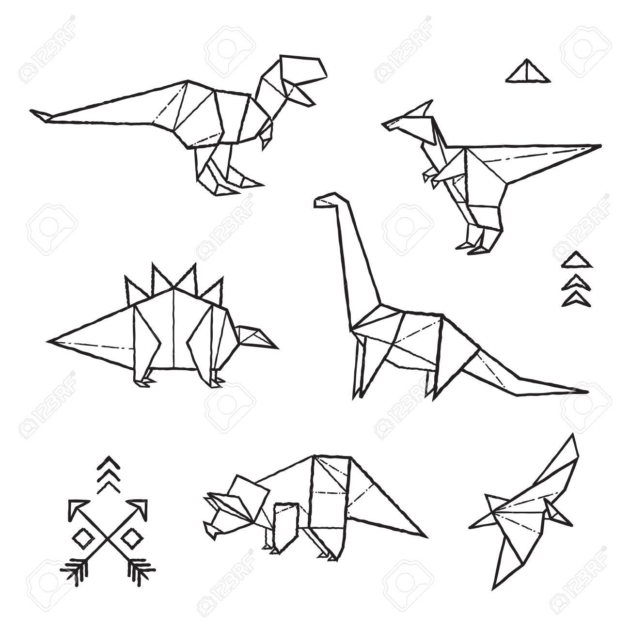 Tinta Origami Tatuajes Dinosaurios Conjunto Ilustracion Vectorial Ilustraciones Vectoriales Clip Art Vectorizado Libre De Derechos Image 95928108 Galeria de tatuajes, etiquetada con la tatuajes dinosaurio, de los mejores artistas del mundo. tinta origami tatuajes dinosaurios conjunto ilustracion vectorial
