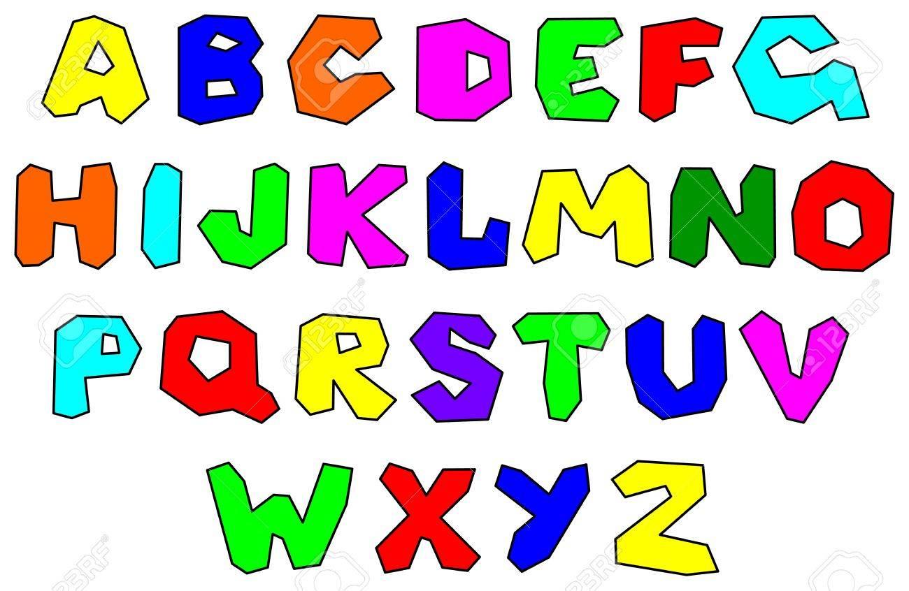 Colorfull alphabet Stock Vector - 11295459