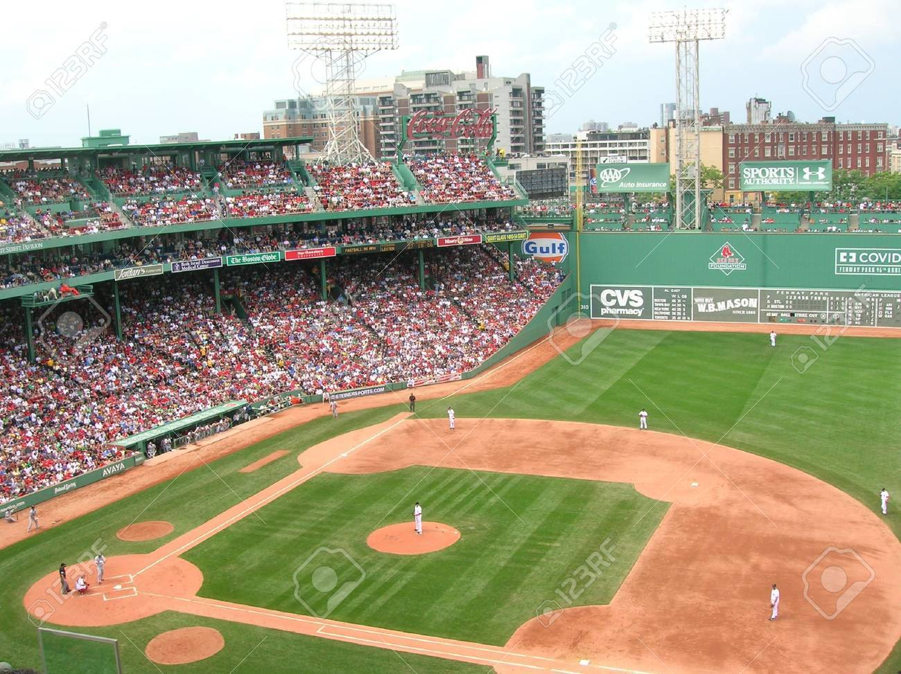 Boston, Massachusetts, USA - September 4th, 2009 - A Red Sox