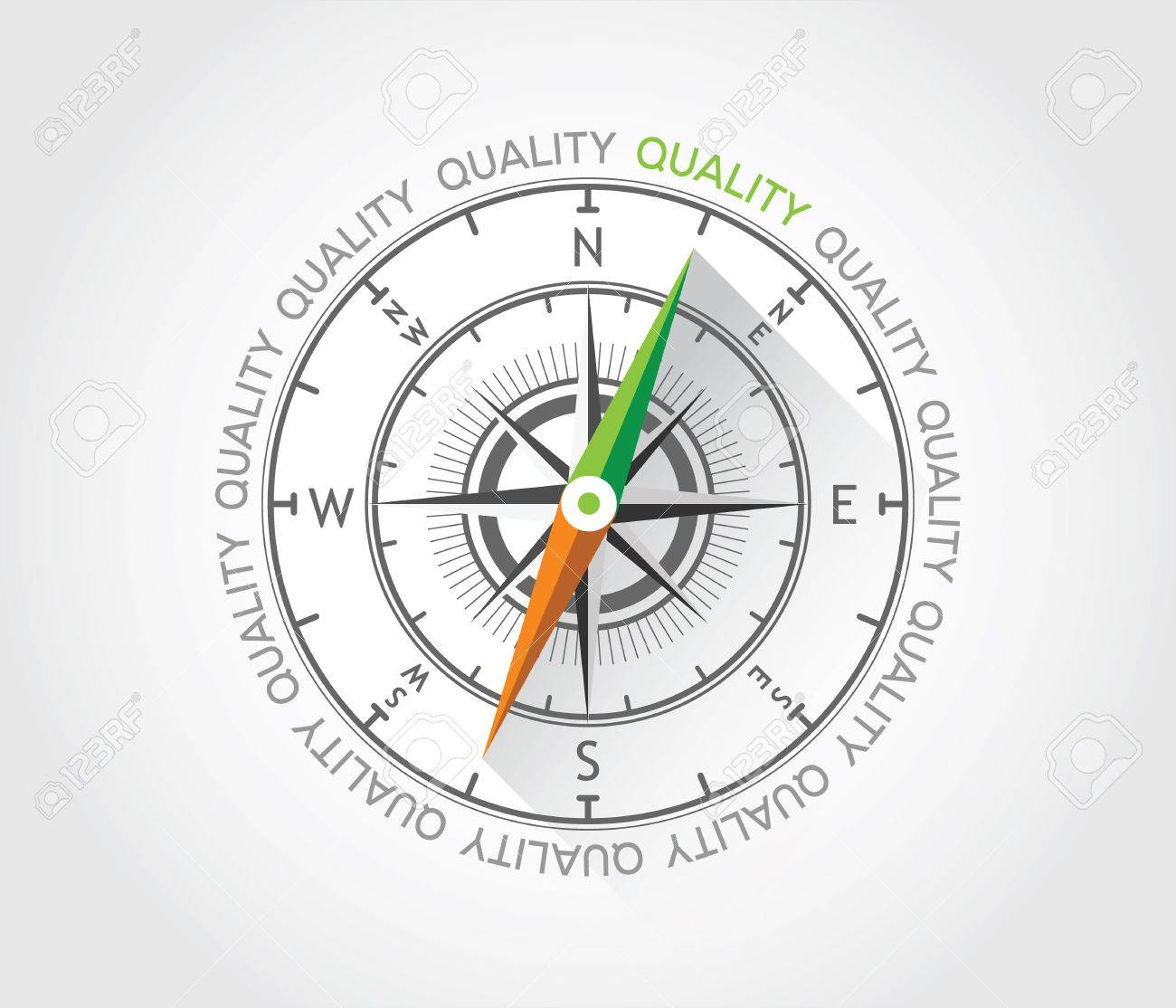 Vector compass about quality royalty free cliparts vectors and vector compass about quality stock vector 27919971 pooptronica