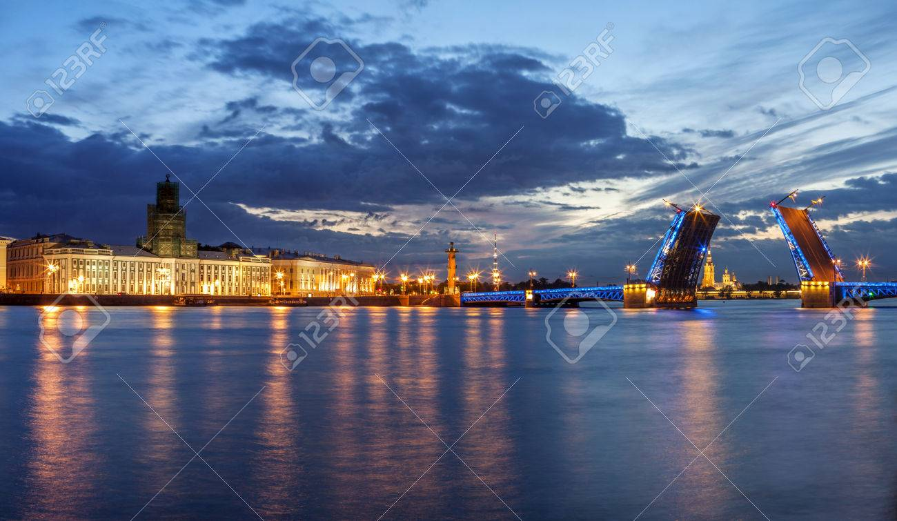 nuits blanches saint petersbourg