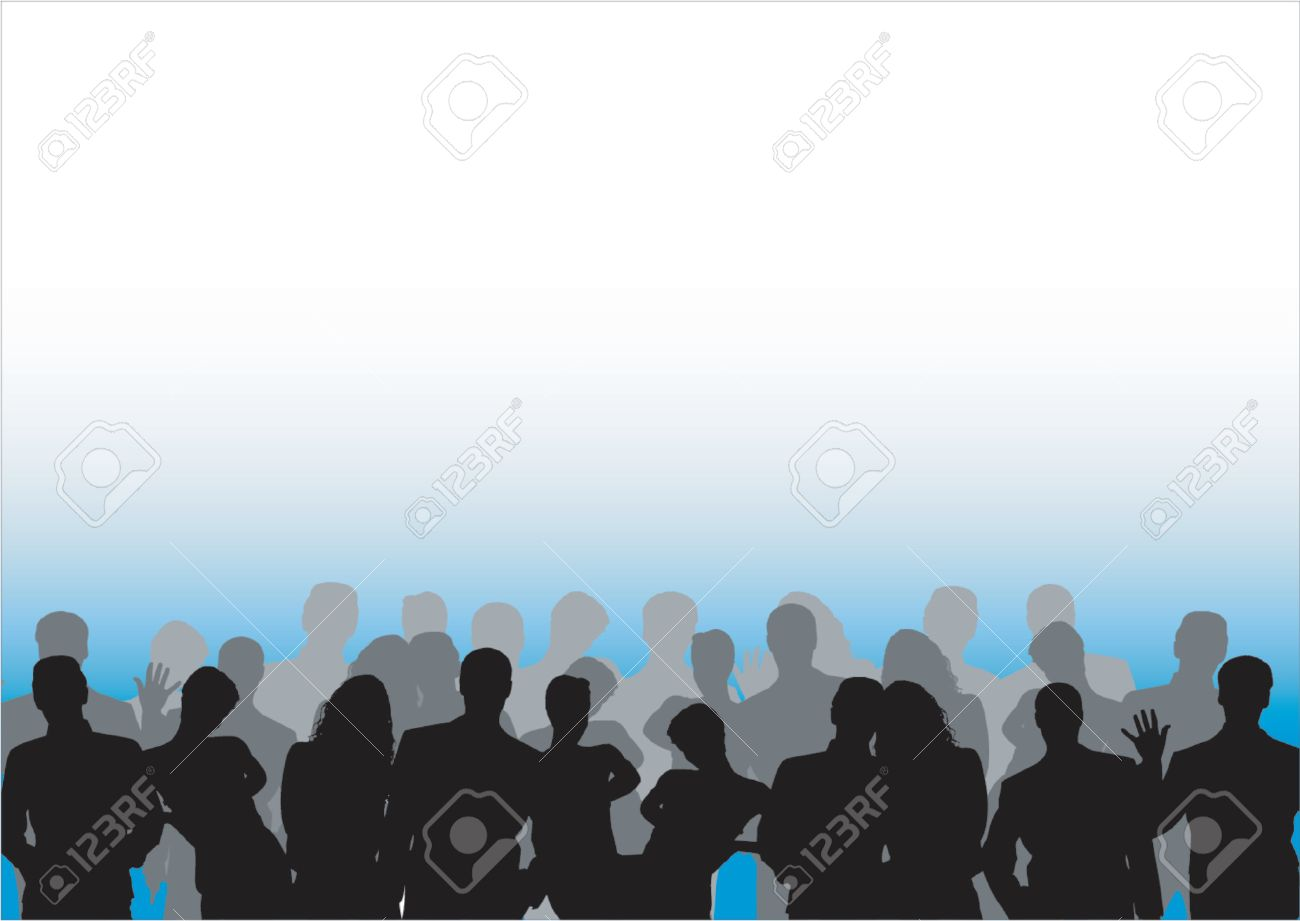 Crowd Stock Vector - 432839